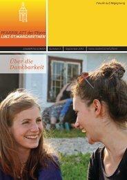 Über die Dankbarkeit - Pfarre Linz - St. Margarethen