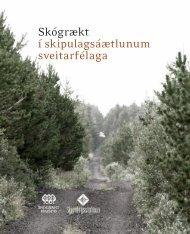 Skógrækt í skipulagsáætlunum sveitarfélaga - Skipulagsstofnun