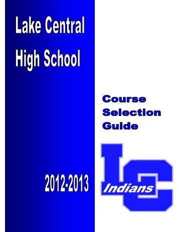 Student Handbook - Lake Central High School