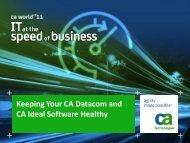 CA Enterprise Report Management Product ... - CA Technologies