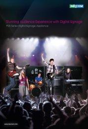 Stunning Audience Experience with Digital Signage - IPC2U
