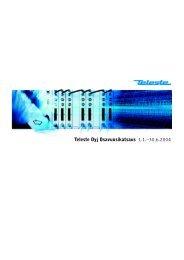 Osavuosikatsaus 2004 tammi - kesäkuu - Teleste