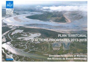 Projet de Plan des PTAP - Agence de l'Eau Seine Normandie