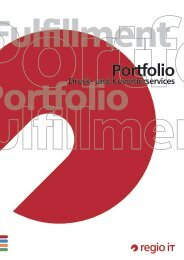 Fulfillment Portfolio - regio iT
