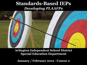 Power-point Presentation - Arlington Independent School District