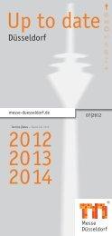 Up to date 2012 2013 2014 - Messe Düsseldorf