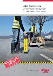 Leica Digisystem Unterirdische Leitungen schnell ... - messkom.de