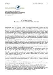 Das Yogyakarta Prinzip - CSDSO