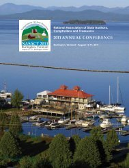 2011 NASACT Annual Conference - Onsite Brochure