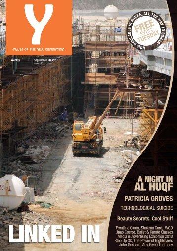 Y - September 28, 2010 - Issue 140 - Y-oman.com