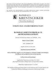 EAB Basket Garant Anleihe - Bankhaus Krentschker & Co ...