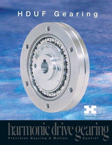 hduf.pdf - Harmonic Drive LLC