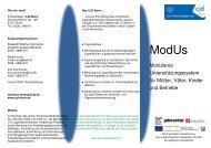 Modulares Unterstützungssystem für Mütter, Väter ... - CJD Bonn