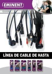 LÍNEA DE CABLE DE HASTA - Eminent