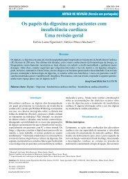 Os papéis da digoxina em pacientes com insuficiência cardíaca ...