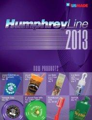 Download the 2013 Catalog (PDF) - HumphreyLine