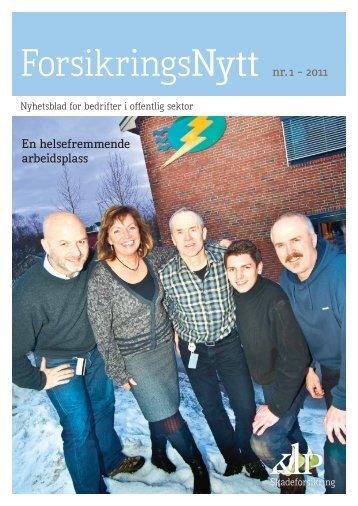 ForsikringsNytt nr 1/2011 (pdf) - KLP