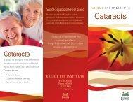 Cataracts - Kresge Eye Institute