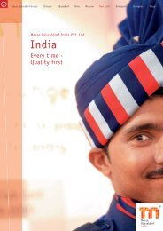 Every time - Quality first - Messe Düsseldorf India