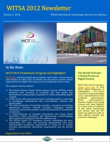 WITSA 2012 Newsletter