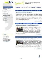 Newsletter 6.pub - Wirtschafts- und Tourismusfördergesellschaft ...