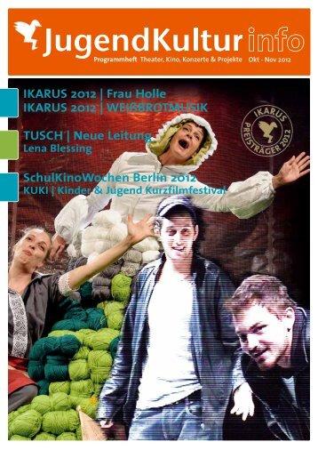 IKARUS 2012 - Jugendkulturservice Berlin