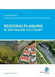 REGIoNalplaNUNG - Verband Region Stuttgart