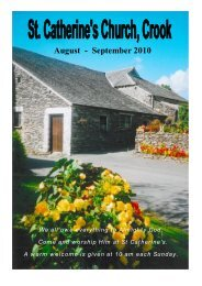 Crook Magazine 2010 08-09.pdf - The Parish of Crosthwaite and Lyth