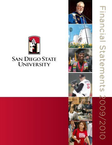 SDSU Financial Statements 2009/2010 - Division of Business and ...