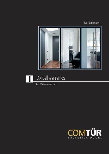ComTuer Basic-Varianten und Glas 2012 (pdf, 5895 kb) - Torda Türen