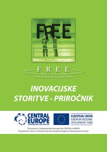 inovacijske storitve - priročnik - FREE - From Research to Enterprise