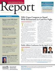 Washington Report, February 2011 - No Kid Hungry