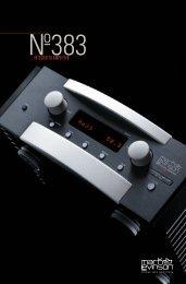 No383 Brochure - Mark Levinson