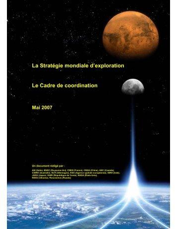 Document PDF de la Stratégie mondiale d'exploration - Agence ...