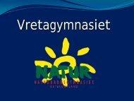 Presentation av Vretagymnasiet