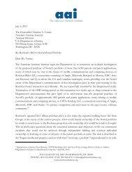 Nortel letter to DOJ.7.6.11 - American Antitrust Institute