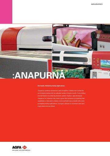:ANAPURNA; One Family. Unlimited printing ... - Seri-Deco