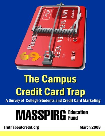 The Campus Credit Card Trap - Public Interest Network