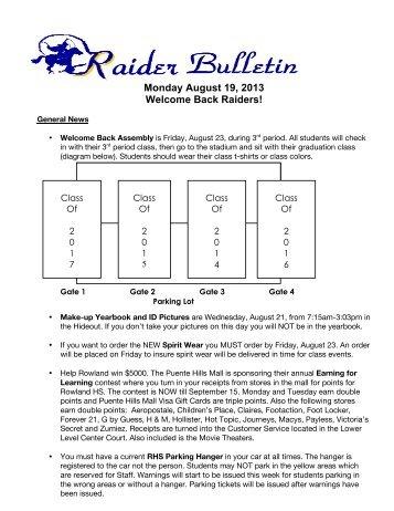 8-19 News Bulletin.pdf - Rowland High School