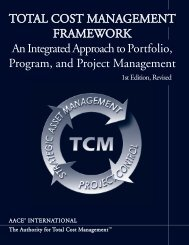 Total Cost Management Framework: An Integrated Approach to ...