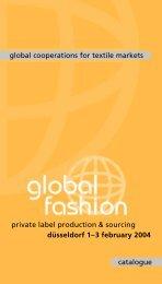 Global Cooperations For Textile Markets - Messe Düsseldorf