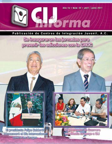 revista 55 - Centros de Integración Juvenil