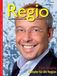 Peter Malama Kämpfer für die Region - Regio aktuell