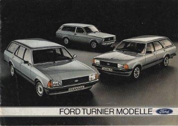 Ford Turnier - Niemcy - 08.1979 - Capri.pl