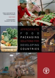 appropriate food packaging solutions for ... - Messe Düsseldorf