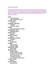 Vida the Diva's Playlist - Entertainment Unlimited
