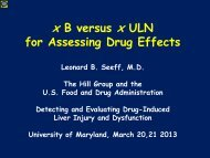Use xB versus xULN for assessing drug effects? - AASLD