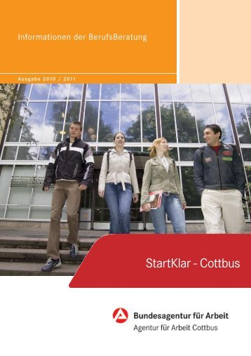 StartKlar - Cottbus - planet-beruf regional - Planet Beruf.de