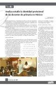 Aprueba el Colegio Académico la creación de la quinta Unidad de ... - Page 2