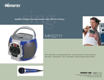 MKS2111 - TriStar Distributing